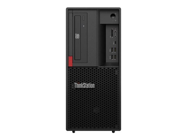 Lenovo ThinkStation P330 - tour - Core i7 8700 3.2 GHz - 16 Go - 256 Go