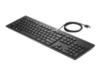HP Business Slim - Keyboard - USB - US - for HP 260 G2; Elite Slice, Slice for Meeting Rooms; RP9 G1 Retail System
