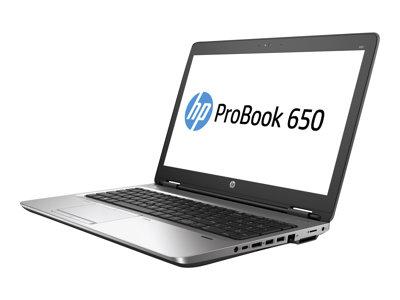 """HP ProBook 650 G2 - Core i5 6200U / 2.3 GHz - Win 7 Pro 64-bit (includes Win 10 Pro 64-bit License) - 8 GB RAM - 512 GB SSD - DVD - 15.6"""" 1920 x 1080 (Full HD) - HD Graphics 520 - Wi-Fi, Bluetooth - kbd: US"""