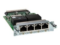 Cisco Third-Generation 4-Port T1/E1 Multiflex Trunk Voice/WAN Interface Card