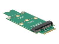 DeLOCK Adapter mSATA > M.2 NGFF Lagringskontrol mSATA mSATA M.2 Card