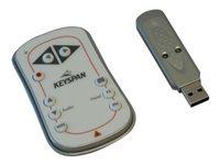 Tripp Lite Keyspan Easy Presenter Wireless Remote Control w/ Laser / Audio White 60ft