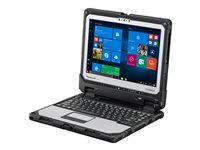 "Panasonic Toughbook 33 - Tablet - with keyboard dock - Core i5 6300U / 2.4 GHz - Win 7 Pro (includes Win 10 Pro 64-bit License) - 8 GB RAM - 256 GB SSD - 12"" touchscreen 2160 x 1440 (Full HD Plus) - HD Graphics 520 - Wi-Fi, Bluetooth - 4G - rugged - with Toughbook Preferred"