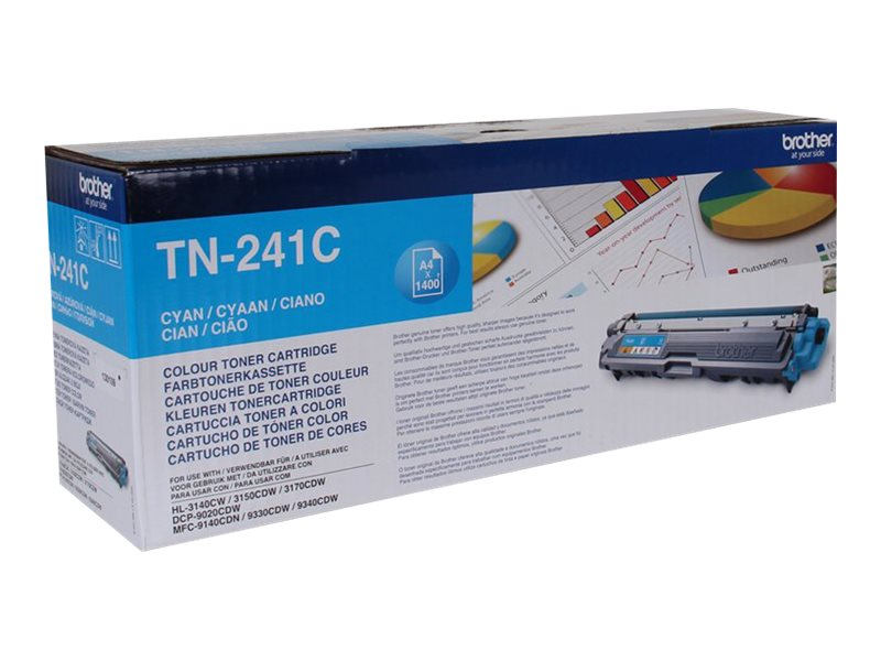 Brother TN241C - cyan - originale - cartouche de toner