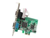 STARTECH - CARDS/HUBS/ADAPTER StarTech.com 2 Port PCI Express RS232 Serial Adapter Card with 16550 UARTPEX2S950