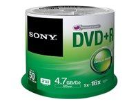 Sony CD-R/W et DVD-R 50DPR47SP