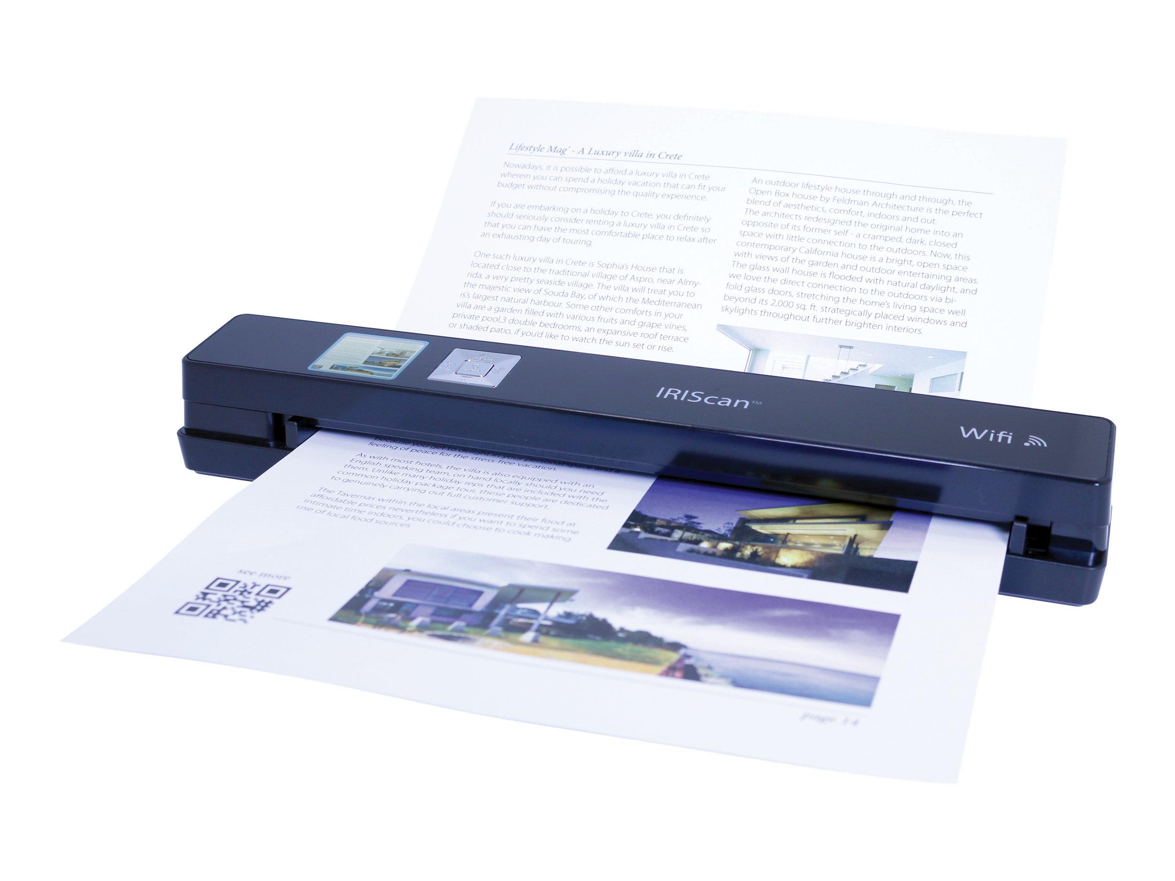 IRIS IRIScan Anywhere 3 Wi-Fi - scanner à feuilles