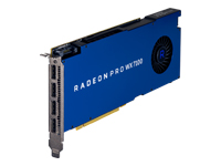 AMD Radeon Pro WX 7100 - Graphics card - Radeon Pro WX 7100 - 8 GB GDDR5 - PCIe 3.0 x16 - 4 x DisplayPort - for Workstation Z240, Z440, Z640, Z840