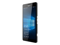 Microsoft Lumia 950 XL Dual SIM - noir - 4G HSPA+ - 32 Go - GSM - téléphone intelligent Windows