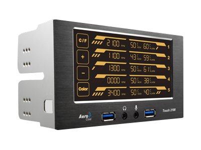 Controlador Ventiladores AeroCool Touch 2100