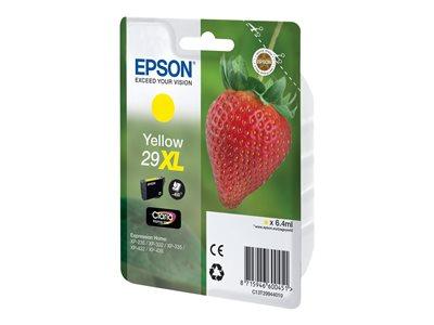 Epson 29XL - 6.4 ml - XL - žlutá - originál - inkoustová cartridge - pro Expression Home XP-235, 245, 247, 332, 335, 342, 345, 432, 435, 442, 445