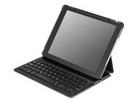 Deltaco IPDAIR2-100 Tastatur og folio-kasse Bluetooth Nordisk