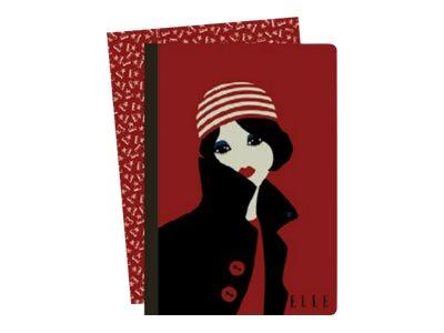 Clairefontaine ELLE - Cahier - 9 x 14 cm - 96 pages - petits carreaux - assortiment de couleurs