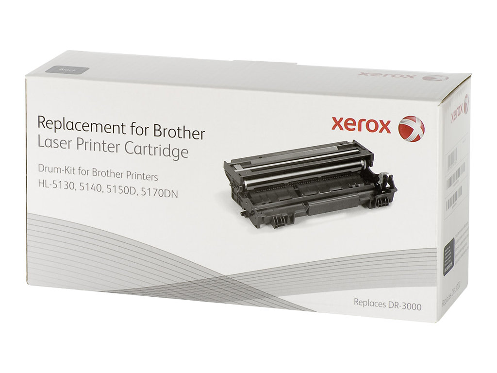 Xerox - noir - kit tambour (alternative pour : Brother DR3000)