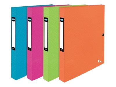 ELBA ART POP - Boîte de classement - 25 mm - 24 x 32 cm - disponible dans différentes couleurs