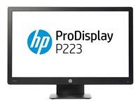 """HP ProDisplay P223 - Monitor LED - 21.5"""" (21.5"""" visible)"""