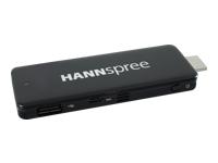 Hannspree Micro PC Micro PC 1 x Atom Z3735F / 1.33 GHz RAM 2 GB SSD