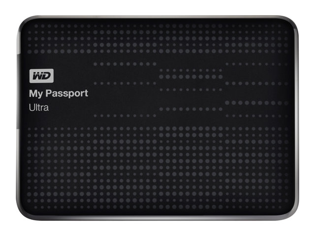 WD My Passport Ultra WDBMWV0020BBK