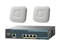 Cisco 2504 Wireless Controller - Mobility Express Bundle - périphérique d'administration réseau - avec 2x Cisco Aironet 1700 Series Access Point
