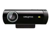 Creative Live! Cam Chat HD Webkamera farve 1280 x 720 audio USB 2.0