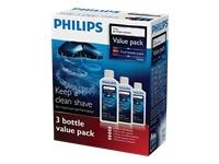 Philips HQ203 Jet clean solution Value pack Renseopløsning til shaver