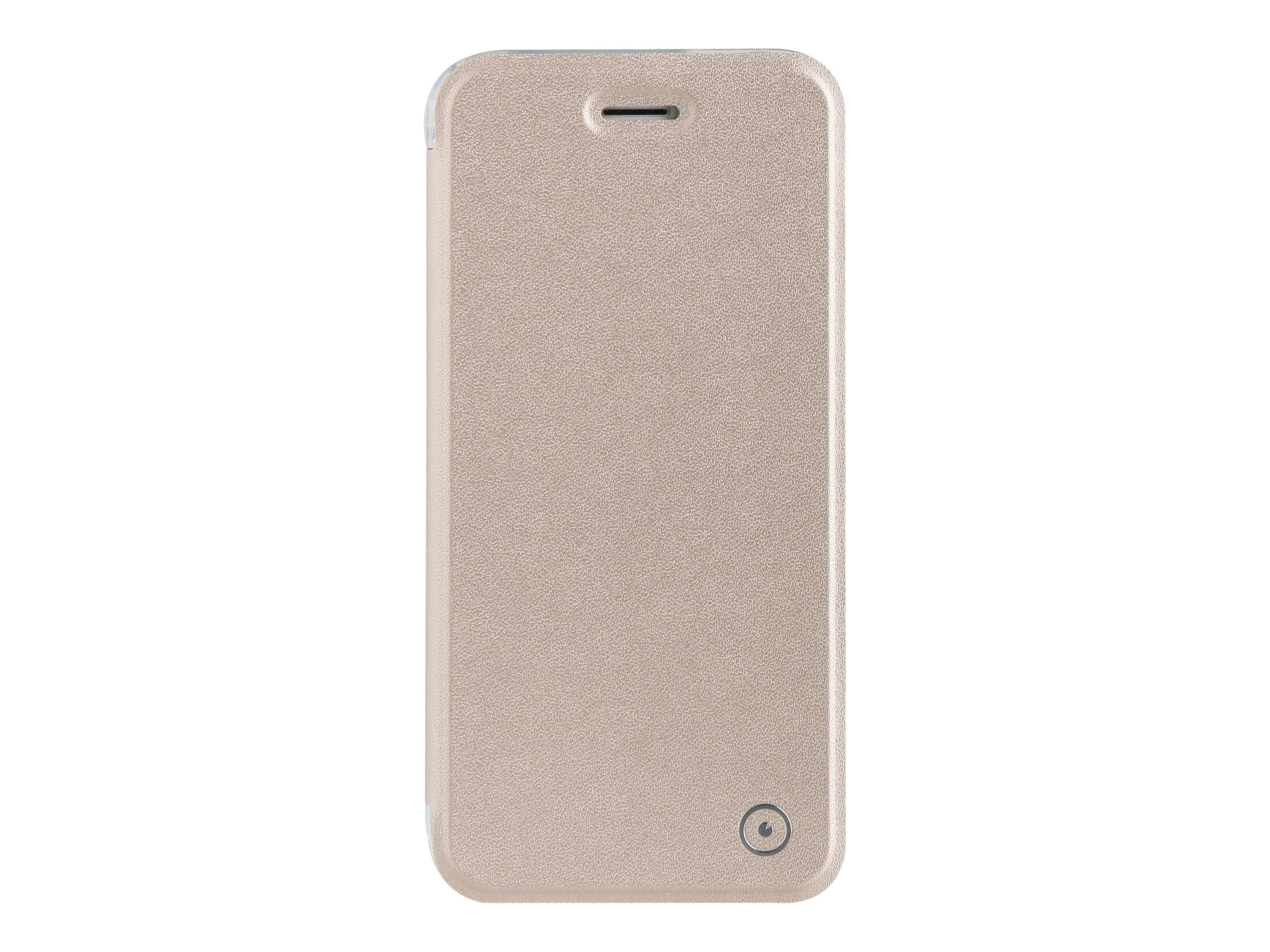 Muvit Folio Case - Protection à rabat pour iPhone 7 - or