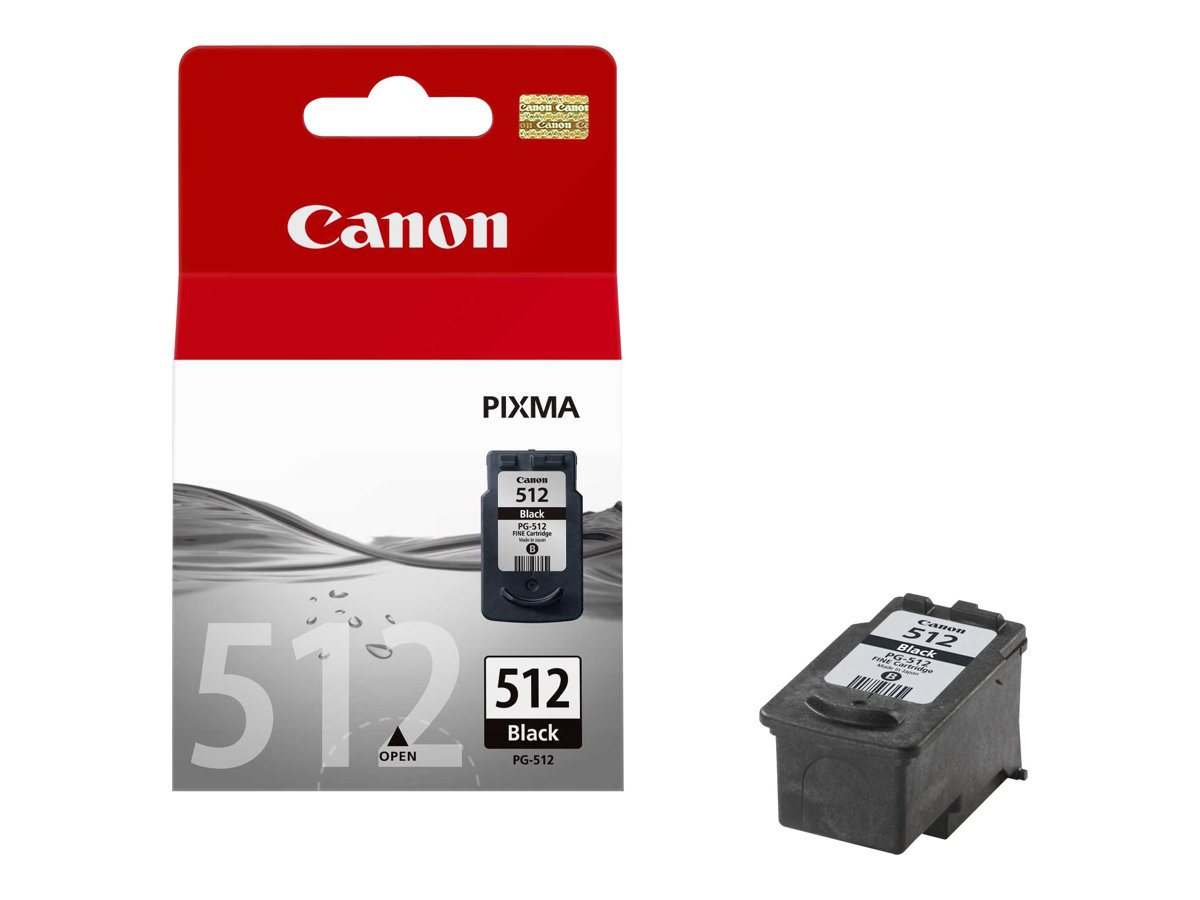 CANON PG-512 - NEGRO - ORIGINAL - AMPOLLA CON SEGU