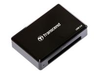 Transcend RDF2 - lecteur de carte - USB 3.0