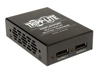 Tripp Lite 2-Port Displayport Multi Display Splitter Expander Booster TAA - Video/audio splitter - 2 x DisplayPort - desktop, rack-mountable, wall-mountable, pole-mountable