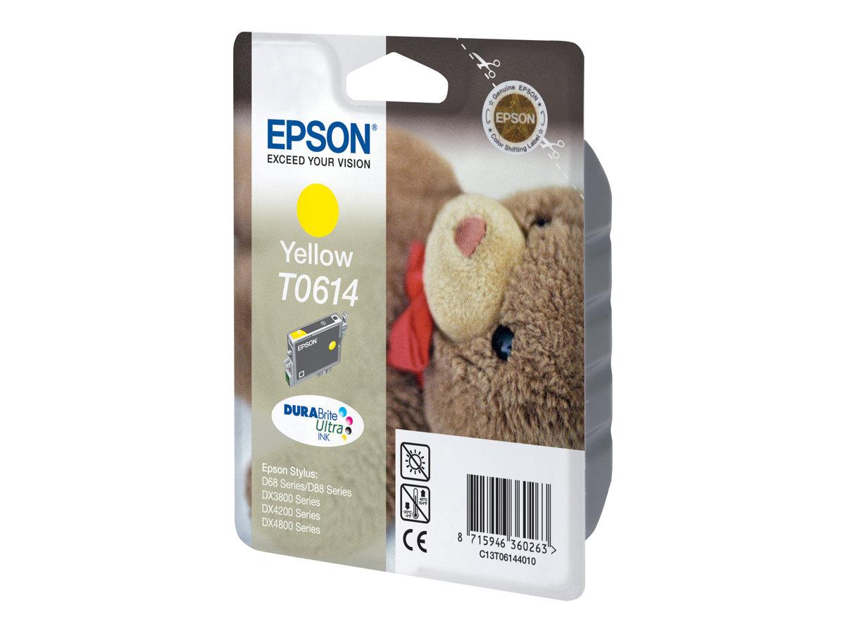 Epson T0614 - jaune - originale - cartouche d'encre
