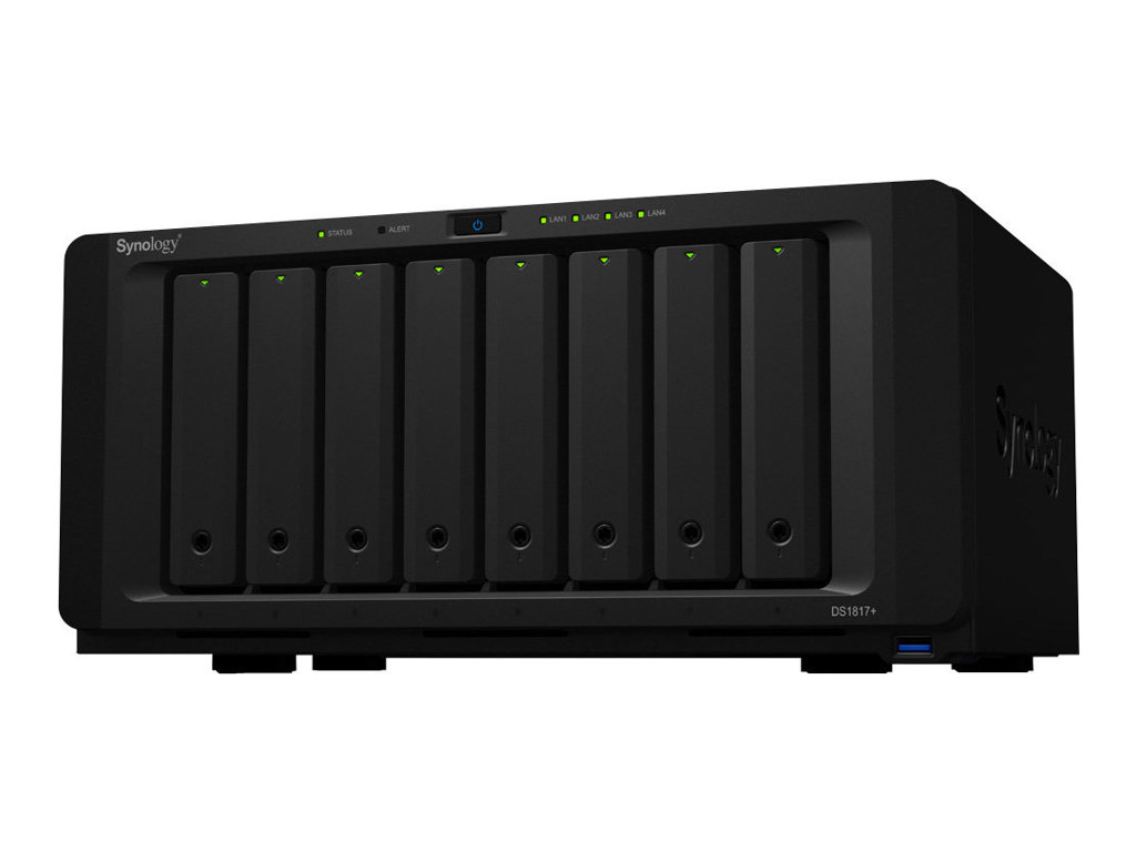 SYNOLOGY DISK STATION DS1817+ SERVIDOR NAS 8 COMPA