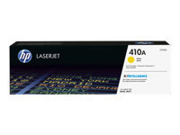 HP 410A - Yellow - original - LaserJet - toner cartridge (CF412A) - for Color LaserJet Pro M452, MFP M377, MFP M477