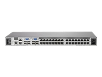 HPE Server Console G2 Switch with Virtual Media and CAC 0x2x32 - commutateur KVM - 32 ports - Montable sur rack