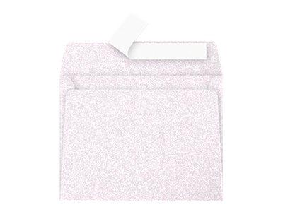 Pollen - 20 Enveloppes - 90 x 140 mm - avec bande (auto-adhésif) - imprimable - rose