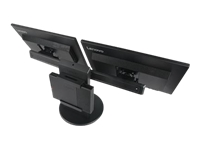 Lenovo Tiny In One - Stand for 2 monitors / mini PC - screen size: 17