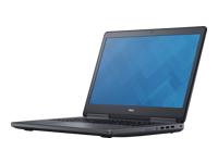 "Dell Precision Mobile Workstation 7710 - 17.3"" - Core i7 6820HQ - Windows 7 Pro 64 bits - 16 Go RAM - 1 To HDD - français"