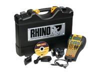 DYMO Rhino 6000 Hard Case Kit - étiqueteuse - monochrome - transfert thermique