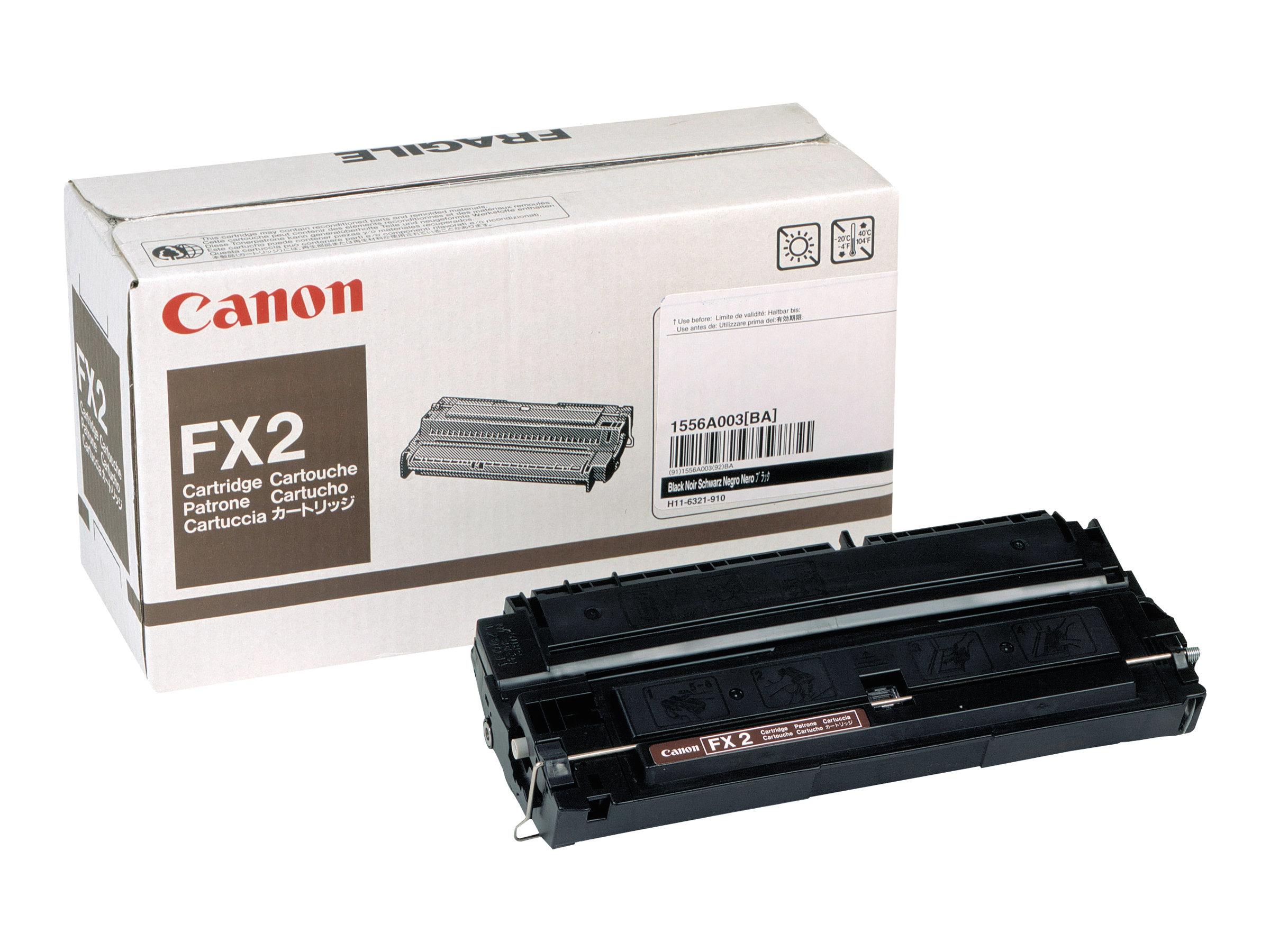 Canon FX-2 - noir - originale - cartouche de toner
