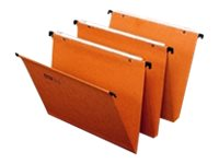 Fast Standard - 25 Dossiers suspendus - pour tiroir - base- V - orange