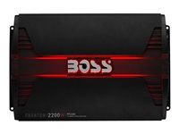 BOSS PHANTOM PF2200 - Car - amplifier - external - 4-channel - 275 Watts x 4