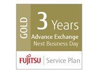 Fujitsu Extensions de garantie UP-36-GOLD-SV600