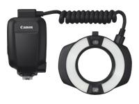 Canon MR-14EX II Macro Ring Lite - Ring-type (macro) flash - 14 (m) - for EOS 1200, 1300, 77, 80, 800, 9000, Kiss X70, Kiss X80, Kiss X9i, Rebel T6, Rebel T7i