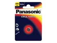 Panasonic LR1130L/1BP Batteri LR1130 Alkalisk 65 mAh