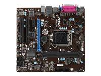 MSI H81M-P32L - Motherboard - micro ATX