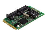 STARTECH.COM  2 Port Mini PCI Express Internal SATA II Controller CardMPEXSATA22I