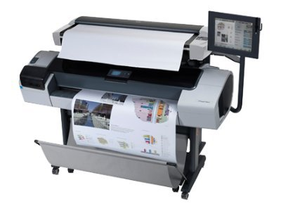 Hewlett Packard - Hp Designjet T1200Hd Mfp Printer