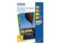 Epson Premium Semigloss Photo Paper - Semi-brillant - 100 x 150 mm - 251 g/m² - 50 feuille(s) papier photo - pour Expression Premium XP-540, 640, 645, 900; WorkForce WF-3620; WorkForce Pro WF-R5190, R5690