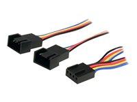 STARTECH - CABLE StarTech.com 12in 4 Pin Fan Power Splitter CableFAN4SPLIT12