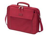 "DICOTA Multi BASE Laptop Bag 15.6"" Bæretaske til notebook 15.6"" rød"
