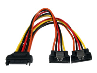 StarTech.com SATA Power Y Splitter Adapter Cable